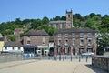 Ironbridge town Royalty Free Stock Photo