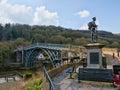 Ironbridge world heritage site Royalty Free Stock Photo