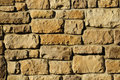 Irregular masonry block wall Royalty Free Stock Photography
