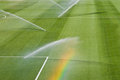Irrigation turf Stock Photos