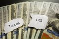 IRS and Taxes Royalty Free Stock Photo