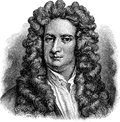 Isaac Newton Royalty Free Stock Photo
