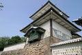 Ishikawa gate of Kanazawa Castle Royalty Free Stock Photo