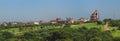 ISKCON Delhi temple Royalty Free Stock Photo