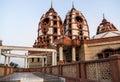 Iskcon Temple in Delhi Royalty Free Stock Photo