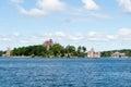 Isla del corazón alexandria bay nueva york Imagen de archivo