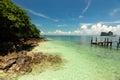 Isla hermosa en tailandia Fotos de archivo libres de regalías