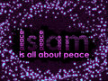 ISLAM IS ALL ABOUT PEACE Stock Photo