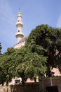 Islam mosque in the centre of rodos in greece Royalty Free Stock Images