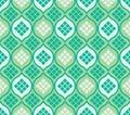 Islam window ketupat seamless pattern