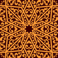Islamic or arabic seamless pattern with elements of ornament Stock Photos
