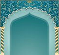 Islamic arch design vector illustration of high detailed in eps format Royalty Free Stock Image