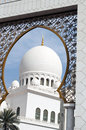 Islamic architecture of Mosques Stock Photo