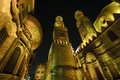 Islamic cairo at night. Royalty Free Stock Photo