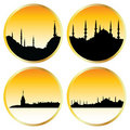 Islamic cityscapes Stock Photography