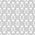 Islamic delicate pattern. Royalty Free Stock Photo