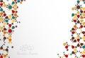 Islamic design greeting card template for Ramadan Kareem with co