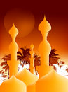 Islamic Illustration Royalty Free Stock Photo