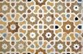Islamic interlace pattern Royalty Free Stock Image