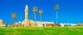 The Islamic landmark of Caesaria Royalty Free Stock Photo