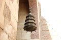 Islamic lantern in old mosque in cairo in egypt Royalty Free Stock Photo