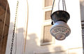 Islamic lantern at old mosques in cairo in egypt Royalty Free Stock Photography