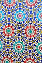 Islamic mosaic Moroccan style useful as background Royalty Free Stock Photo