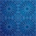 Islamic ornament vector , persian motiff . 3d ramadan islamic round pattern elements . Geometric circular ornamental