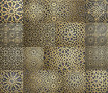 Islamic pattern . Seamless arabic geometric pattern, east ornament, indian ornament, persian motif, 3D. Endless texture