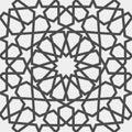 Islamic pattern . Seamless arabic geometric pattern, east ornament, indian ornament, persian motif, 3D. Endless texture