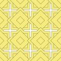 Islamic seamless pattern. Arabic geometric background. East template ornamental design. Muslim oriental tile. Endless oriental tex