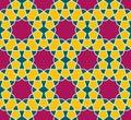 Islamic seamless pattern. Oriental geometric ornaments, traditional arabic art. Muslim mosaic.