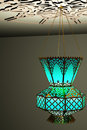 Islamic style lantern Stock Photos
