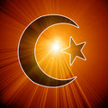Islamic symbol Royalty Free Stock Photo