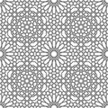 Islamic vector geometric ornaments based on traditional arabic art. Oriental seamless pattern. Turkish, Arabian tile