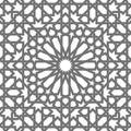 Islamic vector geometric ornaments, traditional arabic art. Oriental seamless pattern. Turkish, Arabian, Moroccan tile