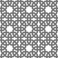 Islamic vector geometric ornaments, traditional arabic art. Oriental seamless pattern. Turkish, Arabian, Moroccan tile