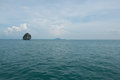Island andaman sea krabi province thailand view tropical beach Stock Image