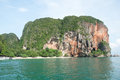 Island andaman sea thailand view tropical beach krabi province Royalty Free Stock Image