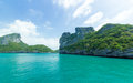 Island at Ang Thong national park ,Thailand Stock Image