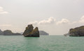 Island at Ang Thong national park ,Thailand Stock Photos