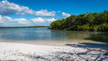 Island beach Paradise on the west coast of Florida Royalty Free Stock Photo