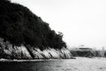 Island of Boa Viagem in the city of Niteroi Royalty Free Stock Photo