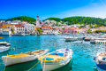 Island Brac in Croatia, Mediterranean. Royalty Free Stock Photo