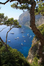 Island of Capri Royalty Free Stock Images