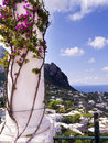 The island of capri is an italian off sorrentine peninsula on south side gulf naples it has been a resort since Royalty Free Stock Photos