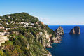Island of Capri Royalty Free Stock Photo