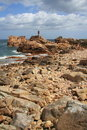 Island Coast of Bréhat France Royalty Free Stock Photography