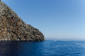 Island corner of an in the mediterranean sea Royalty Free Stock Photos