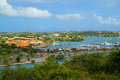 The island of curaçao in the Caribbean sea Royalty Free Stock Photo